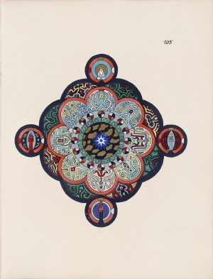 A mandala drawn by Carl Jung, from his recently-published Red Book